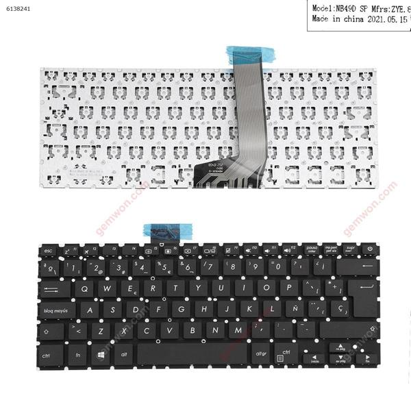 ASUS X405 BLACK Without FRAME (For Win8) SP NB49UK-D      DGYJ    NB49D Laptop Keyboard (OEM-A)