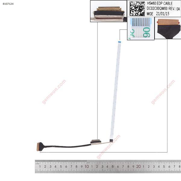 Lenovo IdeaPad 3-14ITL6 3-14 hs460 LCD/LED Cable DC02C00QW00