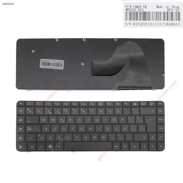HP CQ62 CQ56 BLACK(Without foil,OEM) SP JL-0365 H326-1UK Laptop Keyboard (OEM-B)