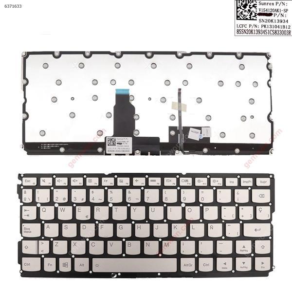 Lenovo YOGA  900S-12  Gold  (Without frame ,without point stick,Backlit) win8  SP V154120AK1-SP            SN20K13934          PK121041B12 Laptop Keyboard (OEM-A)