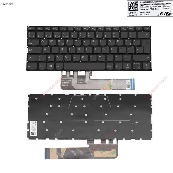 IBM Lenovo Yoga 530-14IKB 530-14ARR 730-13ikb 730-13iwl 730-15ikb 730-15iwl GRAY (without  backlit , without frame ,win8) SP SN5374          852-45921-01A            GCNR496IS            BY-8400          SN20Q40654         SG.92700.2EA Laptop Keyboard (OEM-A)