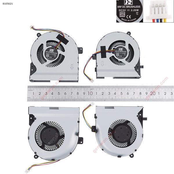 ASUS ROG Strix GL502VM ZX60V FX60VM S5VM(L+R,High Copy) Laptop Fan N/A