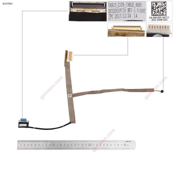 DELL ALIENWARE R3 M18X P19E  LCD/LED Cable 0NC4YP DC02001PC00