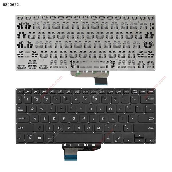 ASUS VIVOBOOK FLIP TP412 TP412U TP412FA BLACK (Without FRAME, Win8) US 18A2 002L18A23LHB01 Laptop Keyboard (OEM-A)