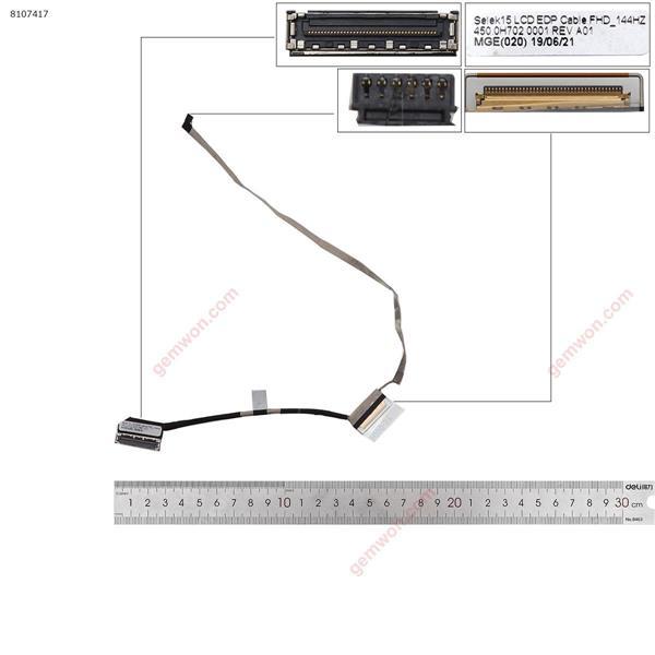 Dell G3 3590 P89F201 P89F 4K FHD-High 1080P 40Pin  LCD/LED Cable 0936X2 450.0H702.0001