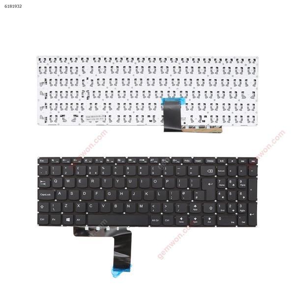 LENOVO Ideapad 310-15 BLACK win8(Without FRAME  ,without  foil  ) UK N/A Laptop Keyboard (OEM-A)