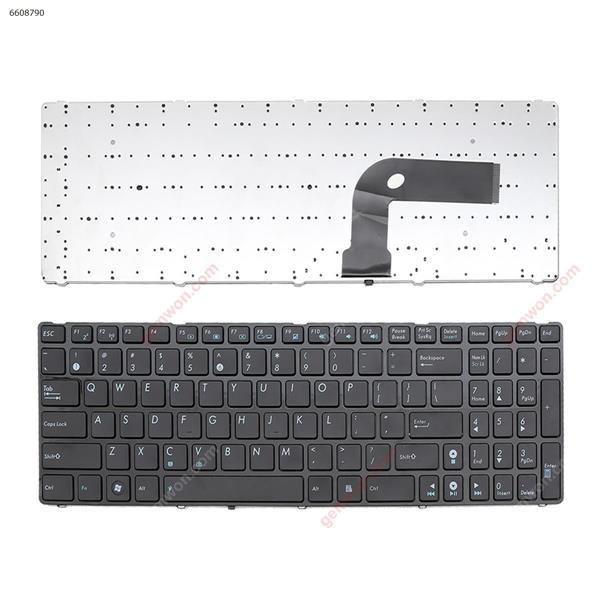 ASUS G60 GLOSSY FRAME BLACK (OEM) US V111462AK1 Laptop Keyboard (OEM-B)