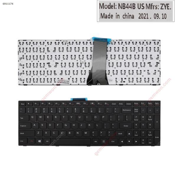 LENOVO G50-70 BLACK FRAME BLACK(Without Foil For Win8) US N/A Laptop Keyboard (OEM-B)
