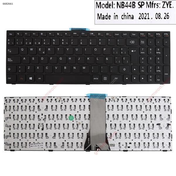 LENOVO G50-70 BLACK FRAME BLACK(Without  foil,For Win8)OEM  SP N/A Laptop Keyboard (OEM-B)