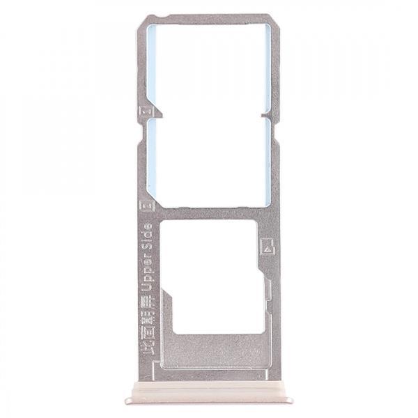 2 x SIM Card Tray + Micro SD Card Tray for Vivo Y79(Gold) Vivo Replacement Parts Vivo Y79