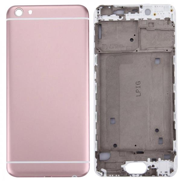 For Vivo X7 Battery Back Cover + Front Housing LCD Frame Bezel Plate(Rose Gold) Vivo Replacement Parts Vivo X7