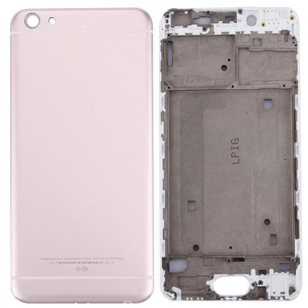 For Vivo X7 Battery Back Cover + Front Housing LCD Frame Bezel Plate(Gold) Vivo Replacement Parts Vivo X7