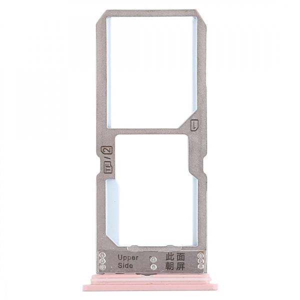 SIM Card Tray + SIM Card Tray / Micro SD Card Tray for Vivo Y67 (Rose Gold) Vivo Replacement Parts Vivo Y67