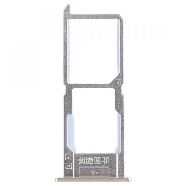 SIM Card Tray + SIM Card Tray / Micro SD Card Tray for Vivo Y37(Gold) Vivo Replacement Parts Vivo Y37