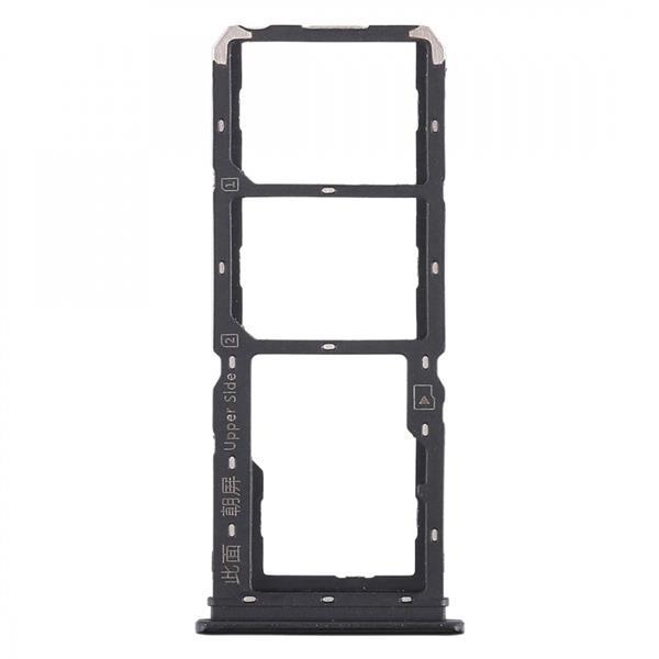 2 x SIM Card Tray + Micro SD Card Tray for Vivo Y97(Black) Vivo Replacement Parts Vivo Y97