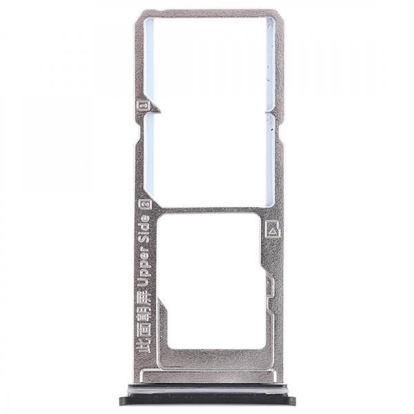 2 x SIM Card Tray + Micro SD Card Tray for Vivo Y85(Black) Vivo Replacement Parts Vivo Y85