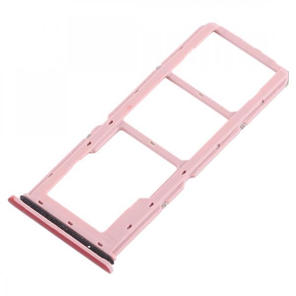 2 x SIM Card Tray + Micro SD Card Tray for Vivo Y83(Red) Vivo Replacement Parts Vivo Y83