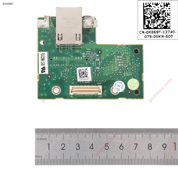 Remote control card for DELL r210 r310 r410 r415 r510 r515  iDRAC 6 k869t(90% new) Board K869T