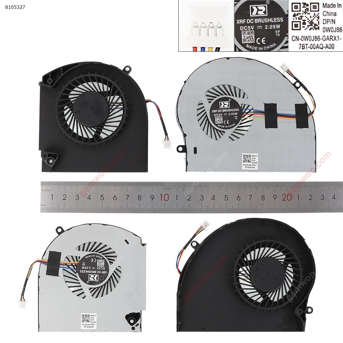 DELL Alienware 17 R4 R5 P31E(L+R,OEM) Laptop Fan N/A