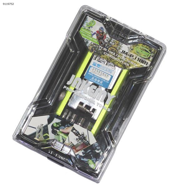 Jackly PJ1001 11 in 1 Screwdriver Set Bicycle Repair Tool Repair Tools N/A