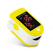 Portable fingertip pulse oximeter oxygen saturation monitoring,yellow Health monitoring OXIMETER