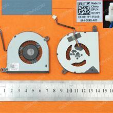 DELL Inspiron 5368 5378 5568 7569 13-7000 15-5000 DP/N:031TPT CN-31TPT(Original) Laptop Fan 023.1006M.0011  031TPT  DFB451005M20T