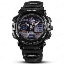 WAT1881 waterproof watch, Deep waterproof sports watch, top-grade men and women electronic watch, Black Smart Wear WAT1881 WATERPROOF WATCH
