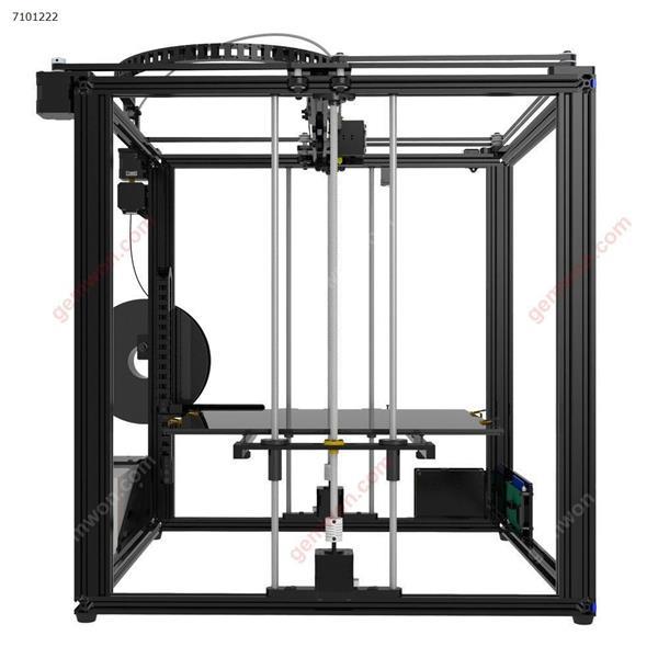 TRONXY? X5S-400 DIY Aluminum 3D Printer Kit 400*400*400mm Large Printing Size With Dual Z-axis Rod/HD LCD Screen/Double Fan 1.75mm 0.4mm Nozzle(EU) 3D printer X5S-400
