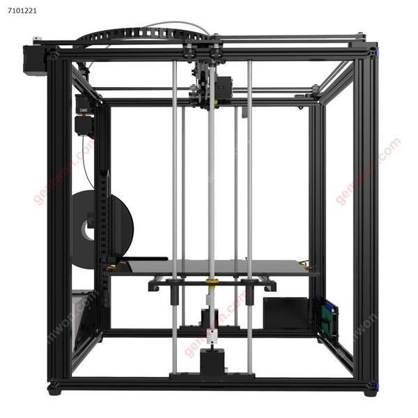 TRONXY? X5S-400 DIY Aluminum 3D Printer Kit 400*400*400mm Large Printing Size With Dual Z-axis Rod/HD LCD Screen/Double Fan 1.75mm 0.4mm Nozzle(US) 3D printer X5S-400