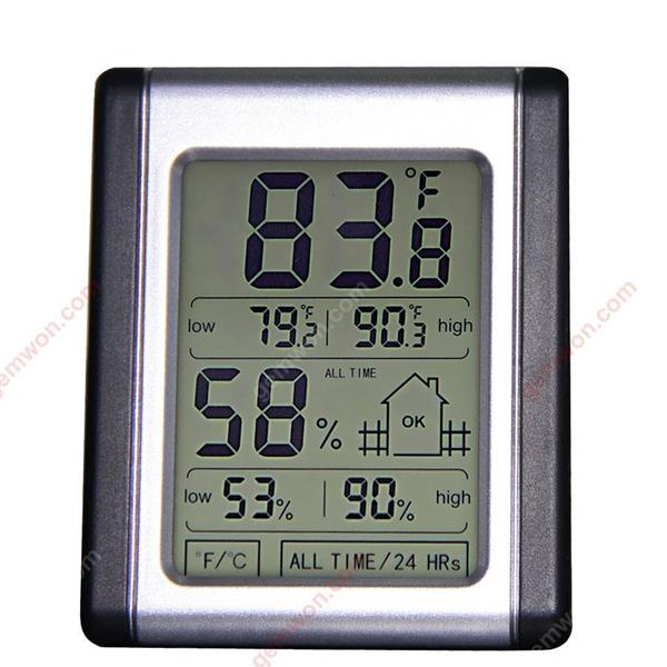 Touch screen electronic thermometer and hygrometer humidity monitor Thermometers & Weather WD-XN