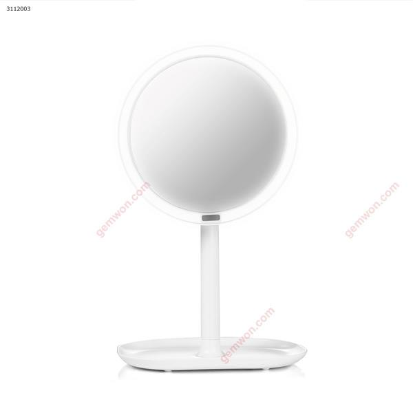 Rechargeable Motion Sensor Light Mirror Led Makeup Mirror Rotation Infrared Induction Makeup Mirror Battery Operated or USB ,7X white Measuring & Testing Tools INFRARED SENSOR LED MIRROR