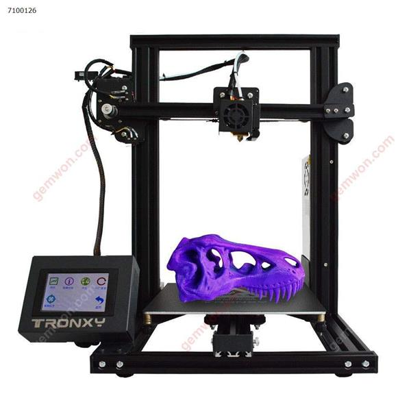 3D Printer with Touch Screen Tronxy XY-2 Semi-Assembled with Free Sample PLA Filament 8G SD Card Preloaded Printable 3D Models (3D Printing Machine) 3D printer XY-2