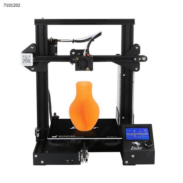 Creality 3D Ender-3 High-precision DIY 3D Printer Self-assemble 220 220 250mm Printing Size with Resume Printing Function 3D printer ENDER-3