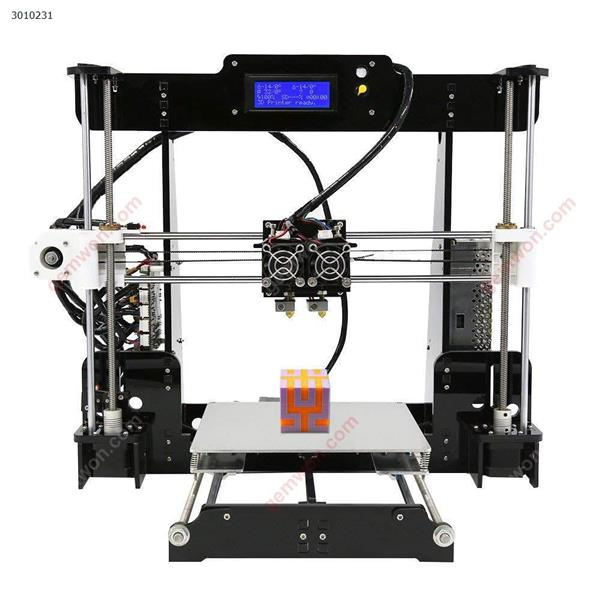 3D Printer  A8-M Dual Extruder Double Colors Printing  with Heated Bed High-precisio Free Testing Filament 3D printer A8-M