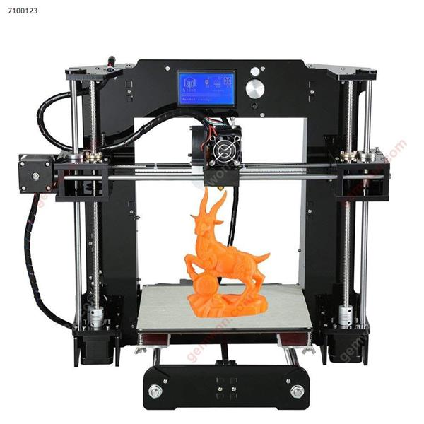 A6 Desktop 3D Printer DIY Kit Includes Micro SD Card Acrylic Plate Support ABS,HIPS,PLA Material Printing 3D printer N/A