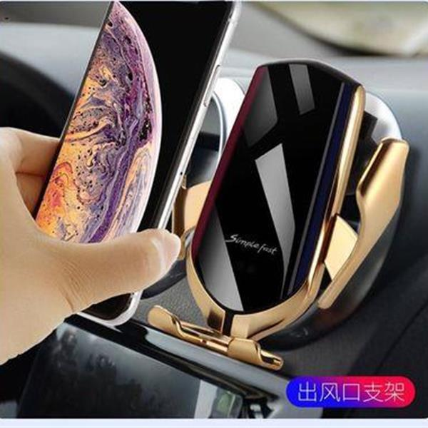 R1 Wireless Charger for Mobile Phone Wireless Infrared Auto-induction Mobile Phone Bracket Wireless Charger Other R1