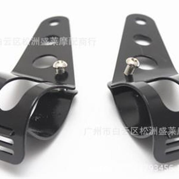 Motorcycle headlamp bracket Aluminum shock absorber bracket for Harley car Other N/A