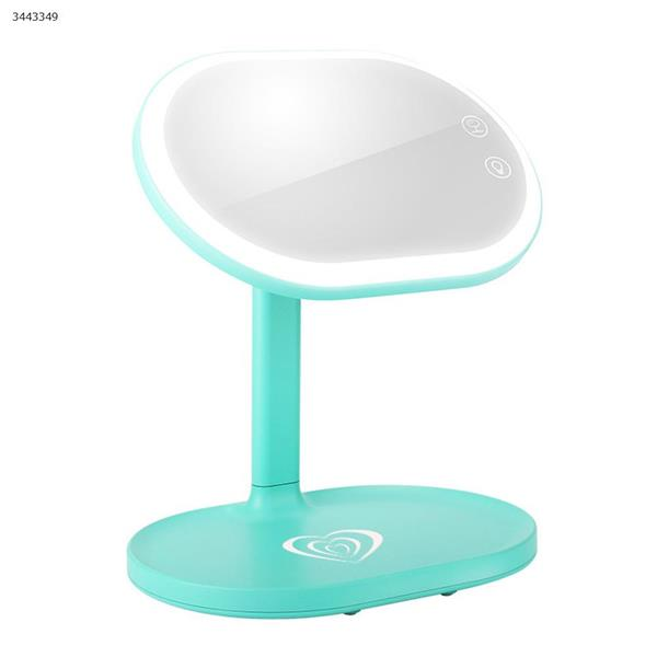 Wireless charging LED makeup mirror lamp, touch switch(LM-501 (Green)) Makeup Brushes & Tools  LM-501