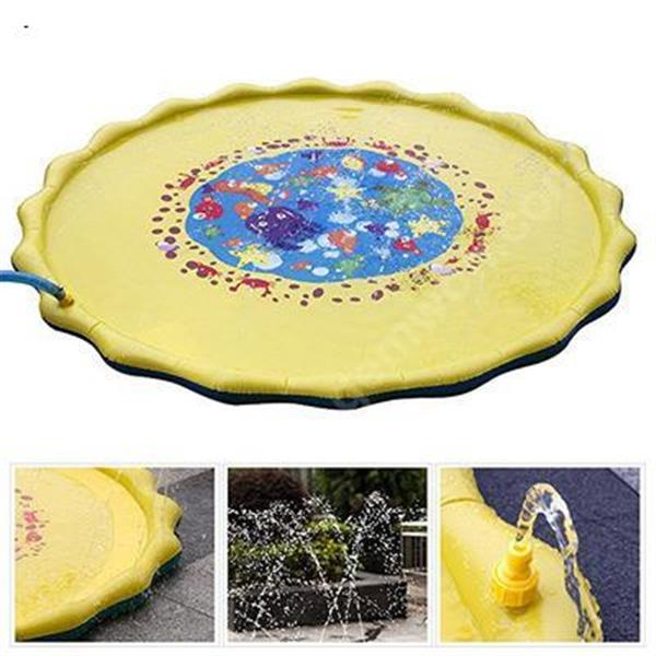 Lawn and Beach Playing Games Sprinkler Cushion Sprinkler Cushion Outdoor Sprinkler Cushion for Children in Summer Other Spray mat