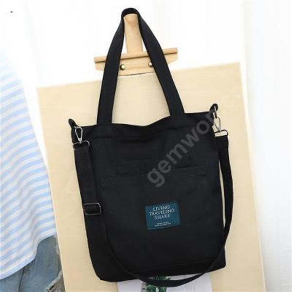 New Canvas Women's Single Shoulder Bag Removable Recreational Slant Shopping Bag Other Leisure shopping bags
