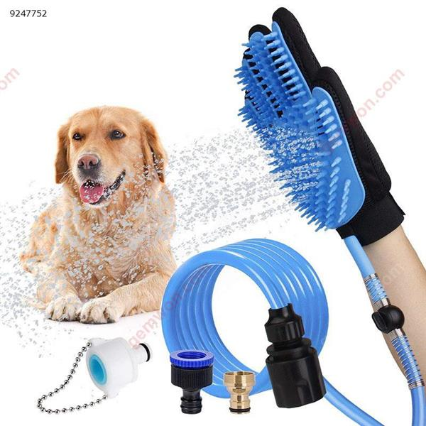 New five-finger silicone pet bath gloves water massage clean hair dog shower artifact Other PFS105