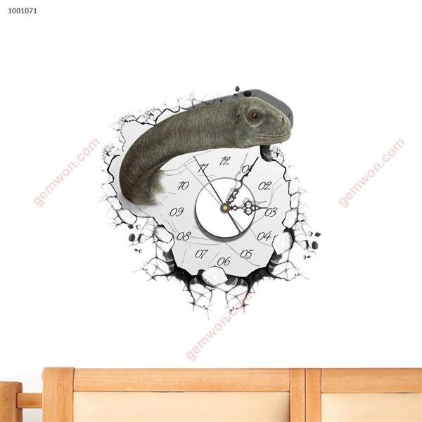 Wall Clock 3D  Sticker Home Room Decor Gift SZ071 3D clock sticker SZ071