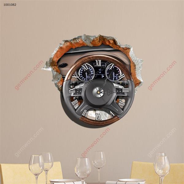Wall Clock 3D  Sticker Home Room Decor Gift SZ082 3D clock sticker SZ082