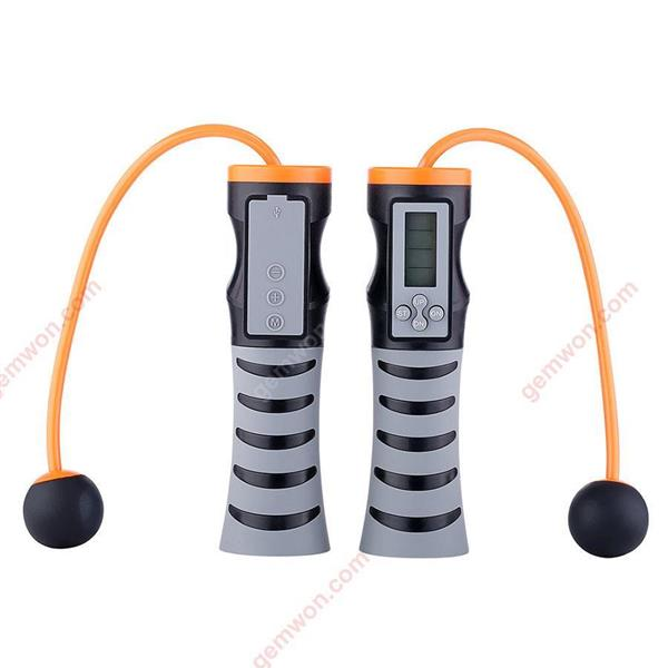 Decompression Music Jumping Rope Bluetooth Speaker Counting Jumping Rope Speaker Wireless Jumping Rope Bluetooth Speaker (Black) Exercise & Fitness WD-XN