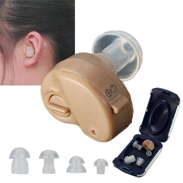 K-80 stealth in-ear sound amplifier wireless elderly business hearing aid (colour) Hearing Aids N/A