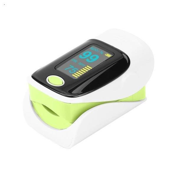 Digital finger oximeter, OLED pulse oximeter display pulsioximetro SPO2 PR oximetro de dedo,oximeter a finger with carrying case  green Health monitoring yl10078