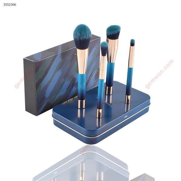 New 4 magnet makeup brush iron boxed(Y1001)portable models, professional make-up tools Makeup Brushes & Tools Y1001
