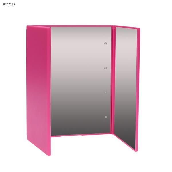 LED folding vanity mirror-Pink Other J02