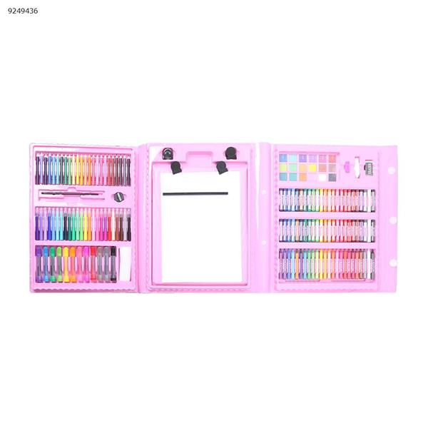 176PC painting gift box children's brush watercolor pen set (Red) Other N/A