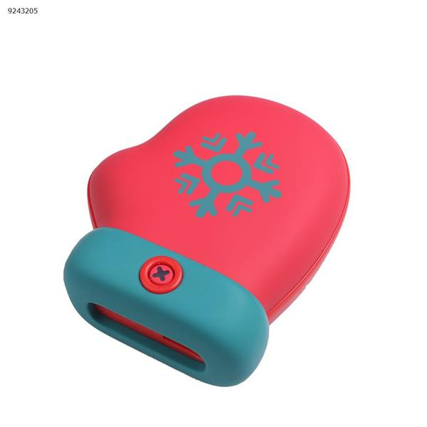 Winter Christmas Gloves Warm Hand USB Mini Portable Recharge Mobile Power, Red Electronic Digital N/A